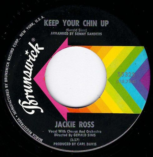 JACKIE ROSS - KEEP YOUR CHIN UP