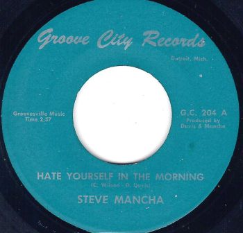 STEVE MANCHA - HATE YOURSELF IN THE MORNING