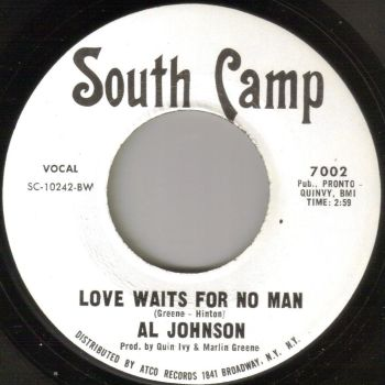 AL JOHNSON - LOVE WAITS FOR NO MAN