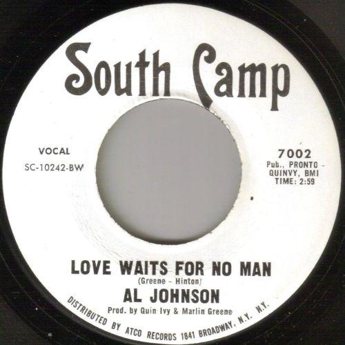 AL JOHNSON - LOVE WAITS FOR NO MAN