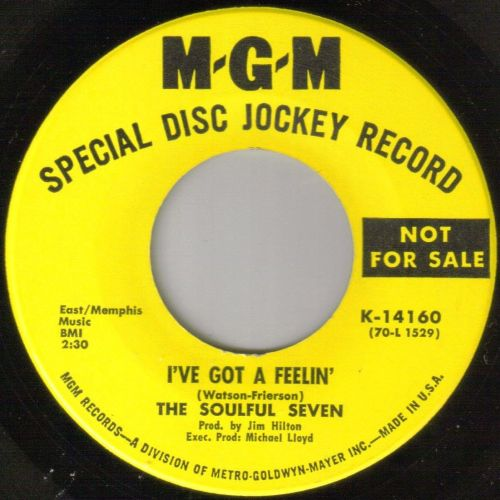 SOULFUL SEVEN -I'VE GOT A FEEELIN'