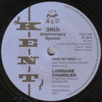 LORRAINE CHANDLER/ MAGNIFICENTS - EASE MY MIND/ I CAN FLY