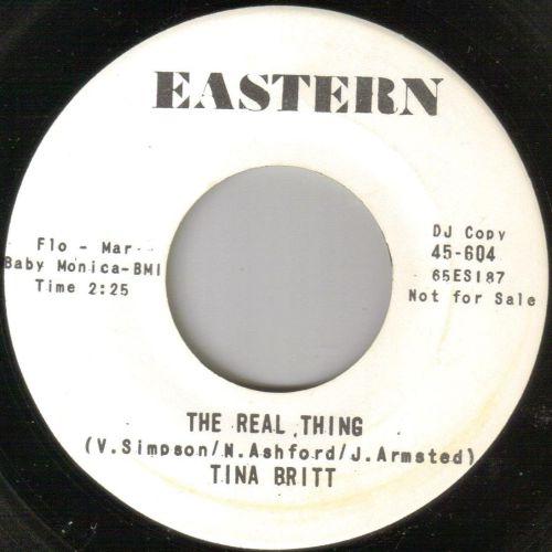 TINA BRITT - THE REAL THING