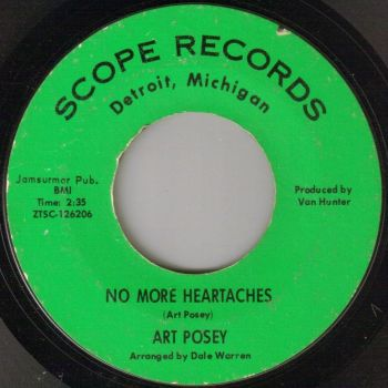 ART POSEY - NO MORE HEARTACHES