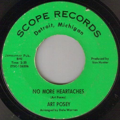 ART POSEY - NO MORE HEARTACHES
