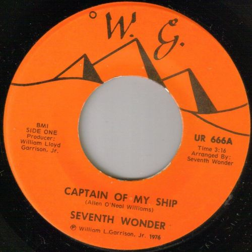 SEVENTH WONDER - CAPTAIN OF MY SHIP