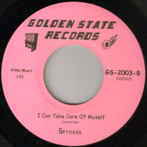SPYDERS - I CAN TAKE CARE OF MY SELF