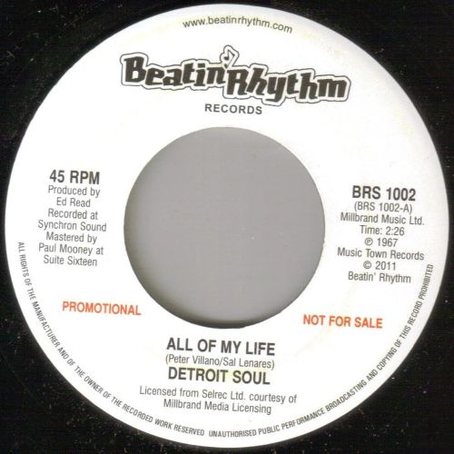 DETROIT SOUL - ALL OF MY LIFE/ MISTER HIP