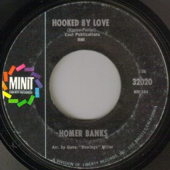 HOMER BANKS - HOOKED ON LOVE