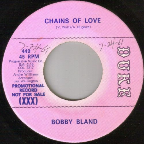 BOBBY BLAND - CHAINS OF LOVE