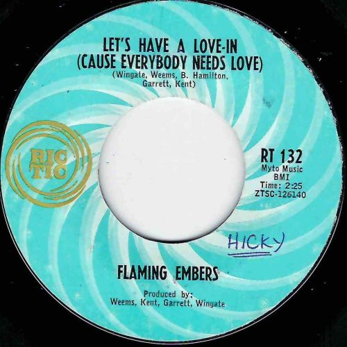 FLAMING EMBERS - LET'S HAVE A LOVE IN (CAUSE EVERYBODY NEEDS LOVE)