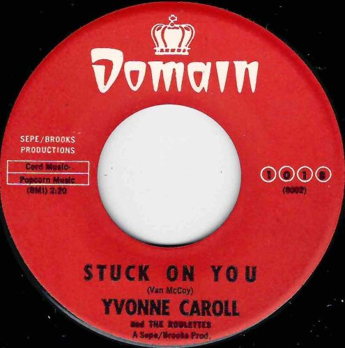 YVONNE CAROLL - STUCK ON YOU