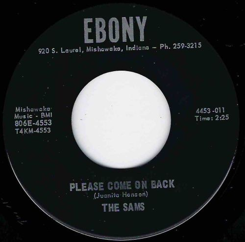 SAMS - PLEASE COME ON BACK - EBONY