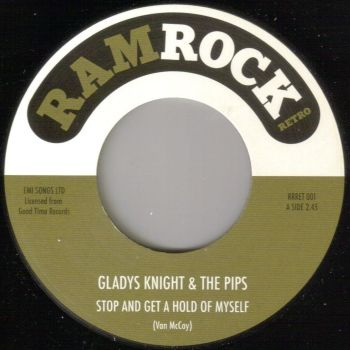 GLADYS KNIGHT & THE PIPS - STOP & GET A HOLD OF MYSELF / TELL HER YOUR MINE