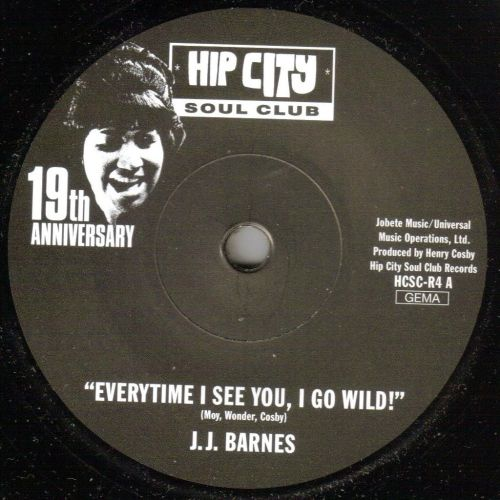 J.J. BARNES/RITA WRIGHT - EVERYTIME I SEE YOU, I GO WILD/ WHERE IS THE LOVE