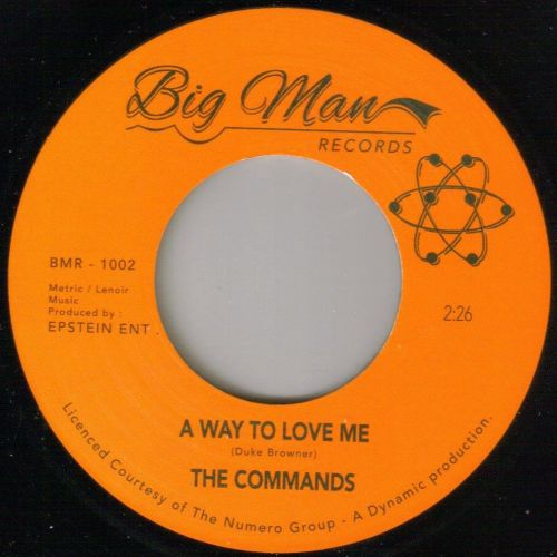 COMMANDS - A WAY TO LOVE ME/I'VE GOT LOVE FOR MY BABY
