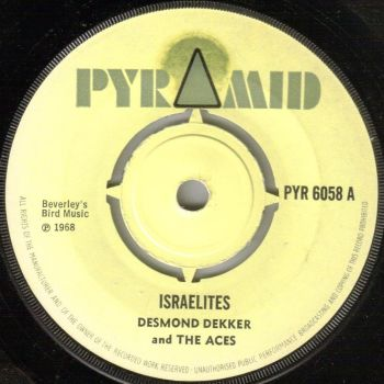 DESMOND DEKKER AND THE ACES - ISRAELITES