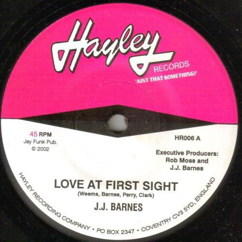 J.J. BARNES - LOVE AT FIRSST SIGHT