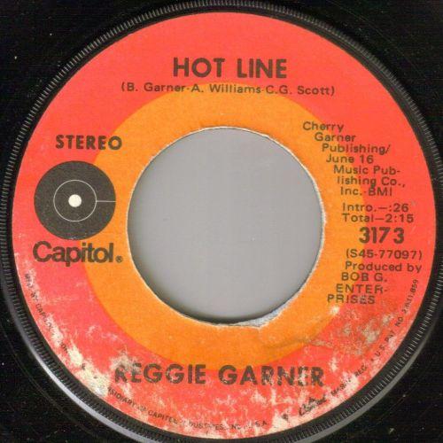 REGGIE GARNER - HOT LINE