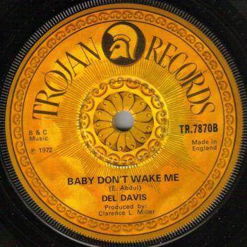 DEL DAVIS - BABY DON'T WAKE ME
