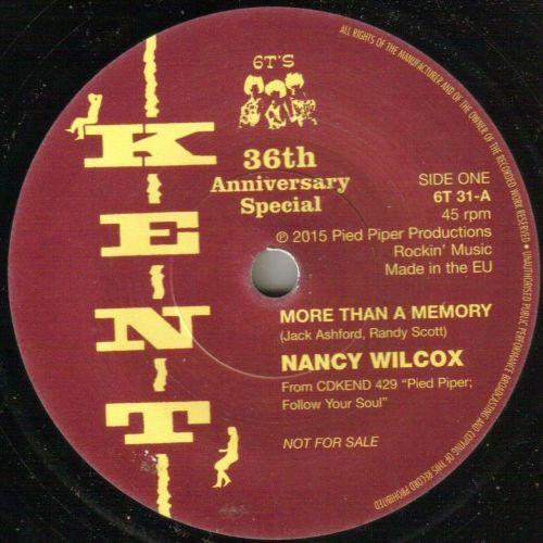 NANCY WILCOX - MORE THAN A MEMORY