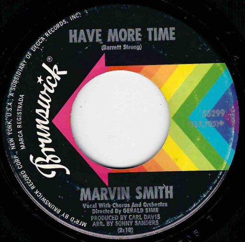 MARVIN SMITH - HAVE MORE TIME