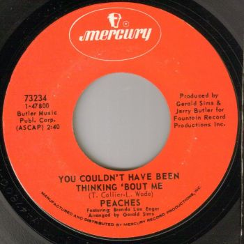 PEACHES - YOU COULDN'T HAVE BEEN THINKING 'BOUT ME