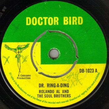 ROLANDO AL  AND THE SOUL BROTHERS - DR. RING-A-DING