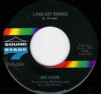 JOE SIMON - LONG HOT SUMMER