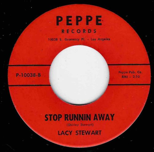 LACY STEWART - STOP RUNNING AWAY / LOVING YOU