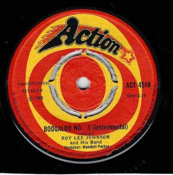 ROY LEE JOHNSON - BOOGALOO No.3 / SO ANNA JUST LOVE ME