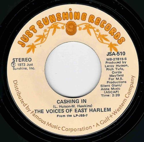 VOICES OF EAST HARLEM - CASHING IN