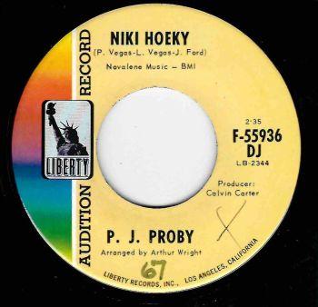 P. J. PROBY - NIKI HOEKY