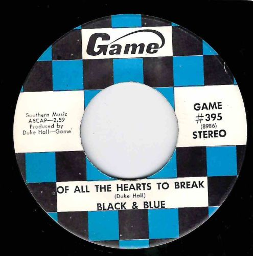 BLACK & BLUE - OF ALL HEARTS TO BREAK