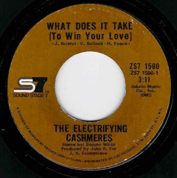ELECTRIFYING CASHMERES -WHAT DOES IT TAKE (TO WIN YOUR LOVE)