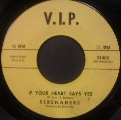 Serenaders - If Your Heart Says Yes