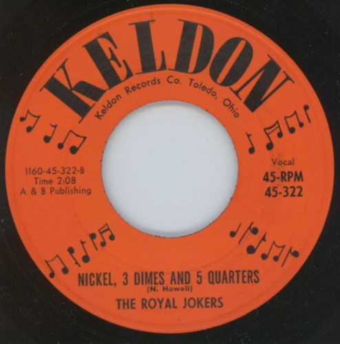 Royal Jokers - Nickel, 3 Dimes And 5 Quarters