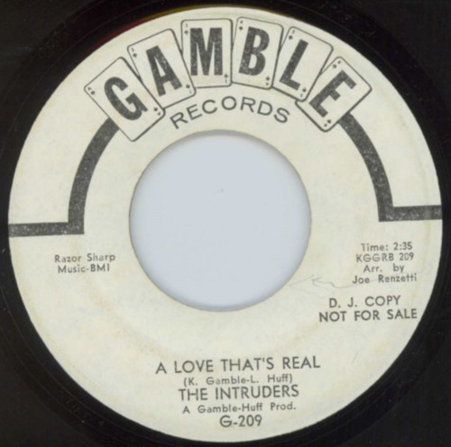 Intruders - A Love That's Real
