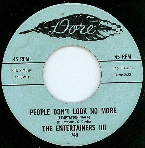 Entertainers III - People Don't Look No More