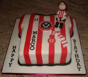 Sheffield United cake