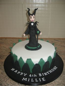 Malificent cake
