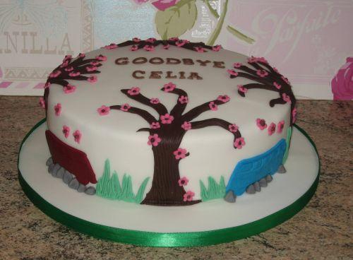 CB Tree cake