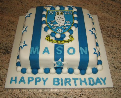 Sheffield Wednesday cake