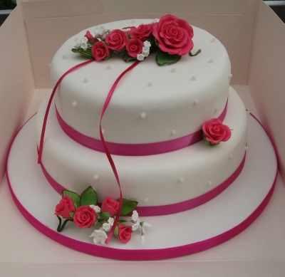 CB 2tier pink rose