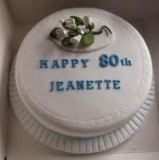 W 80th cake