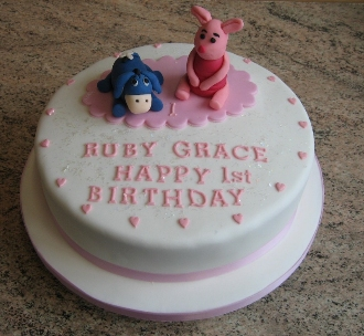 Ruby Grace birthday cake
