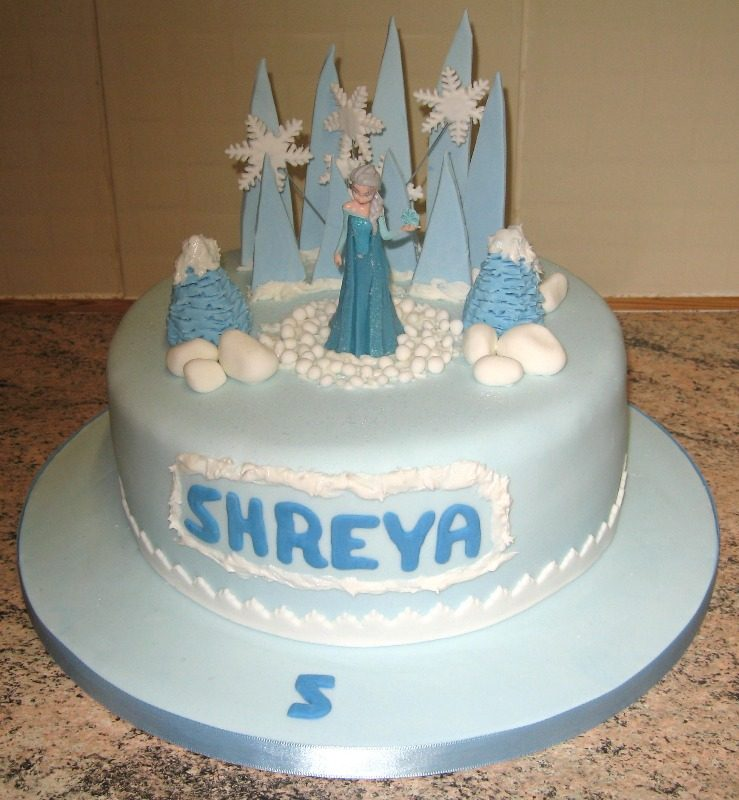 Frozen cake one