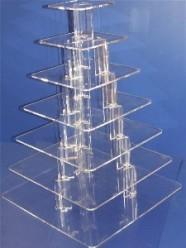 7 tier square