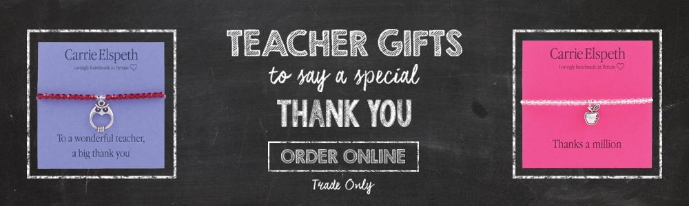 banner teacher gifts