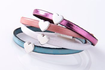 Carrie Elspeth - New Leather Charm Bracelets